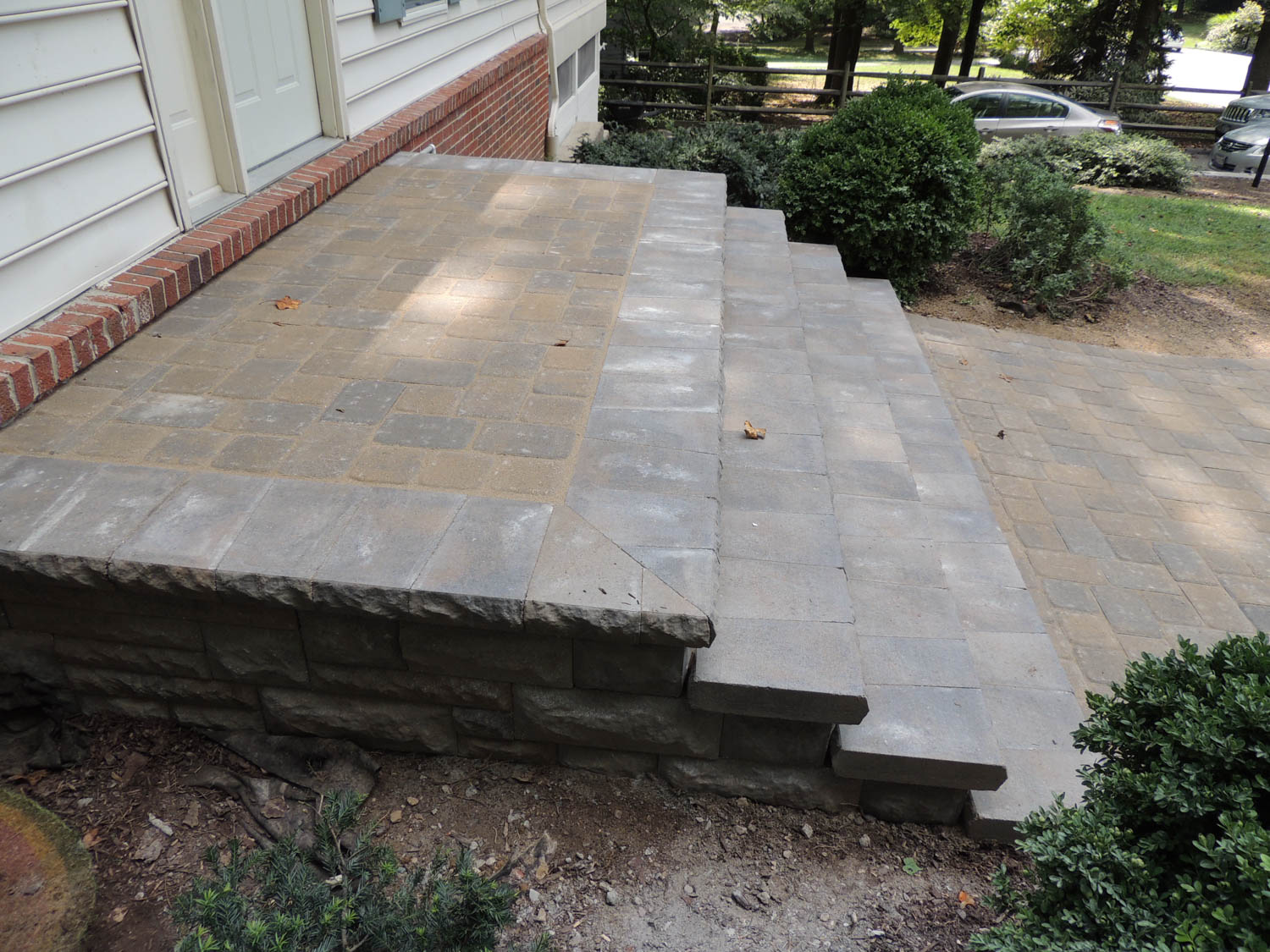 Maryland Paver Patio Step Designs