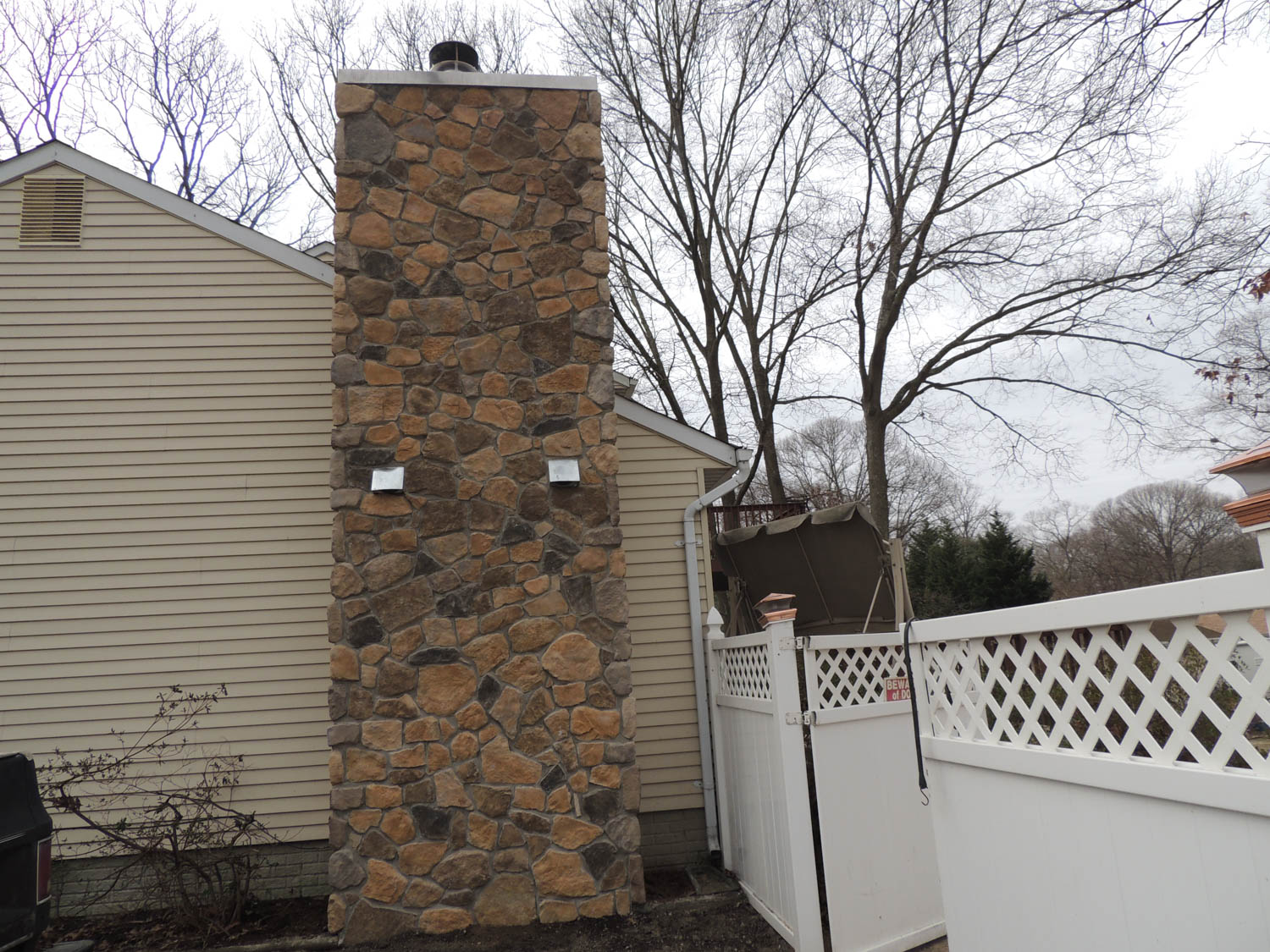 Maryland Outdoor Fireplace Builder