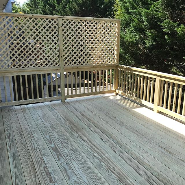 There's always options. Ask your salesmen, about the ideas you have for your deck, and we can make it come to life!