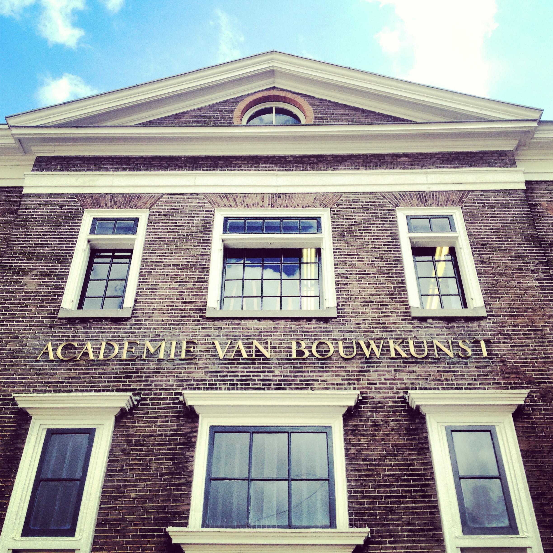 Academie Van Bouwkunst: photo by Arlen Stawasz