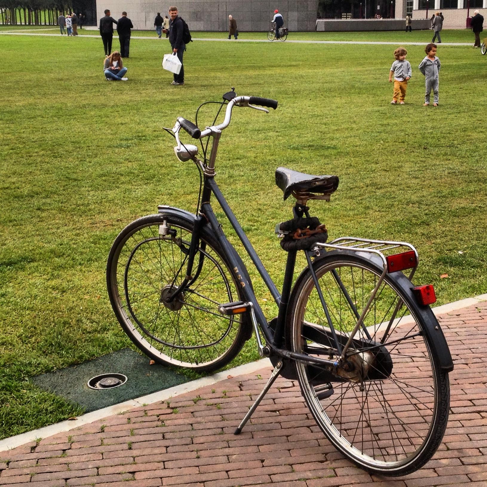 My 30 euro bike: photo by Arlen Stawasz
