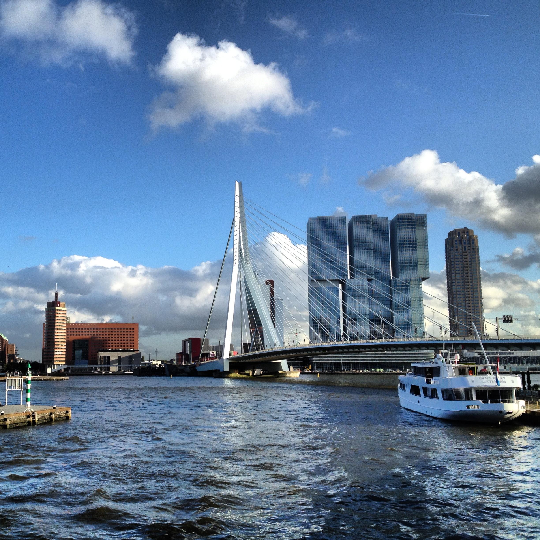 The port of Rotterdam: photo taken by Arlen Stawasz