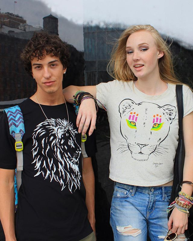Our tees help save big cats. 🦁We create responsibly made fashions inspired by big cats and give back a portion of sales to help protect them. Shop link in bio for our Save a Lion tee in blank or white and our hand painted lioness crop top. 🐯💚You can also find out more about the Spots and Stripes Challenge. This summer we're reaching out to designers who create fashions inspired by big cats to encourage giving back to help save them. You can make a difference by what you wear. #bigcats #ecofashion #sustainablefashion #savebigcats #summer18