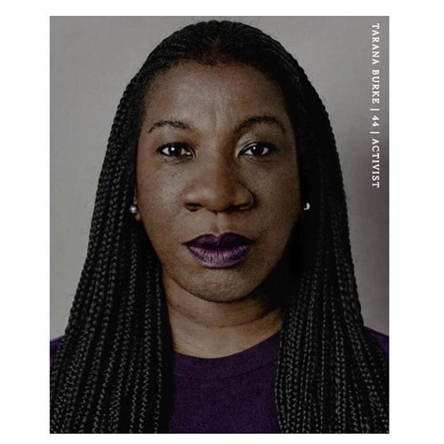 One of the reasons women's self-esteem have collectively risen this past year. Agitators, whistle blowers, people of faith. #taranaburke #metoo