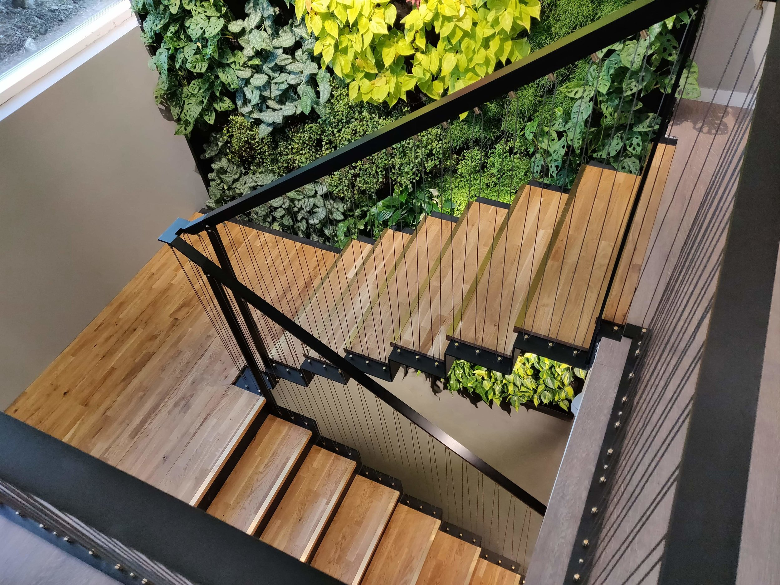Design, production & installation of new stairs