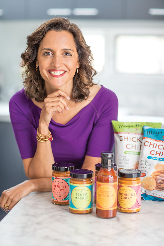 Maya Kaimal, founder and executive chef of Maya Kaimal Fine Indian Foods.