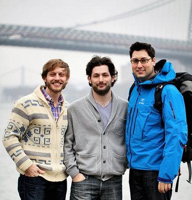 Tom Donigan, Joe Schedeler, and Matt Levey, Best Friends and Co-Founders of Field Trip Jerky.