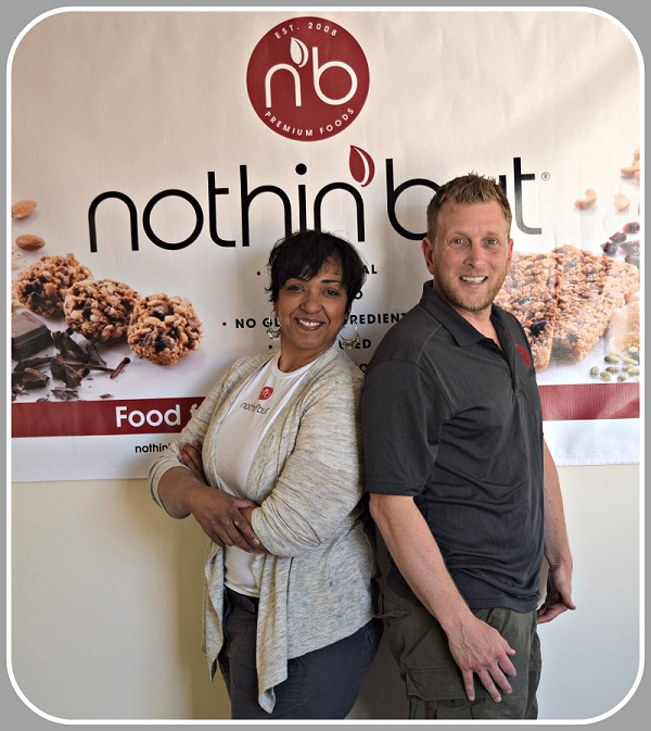 Jerri Graham and Steven Laitmon, co founders and presidents of Nothin But Foods.