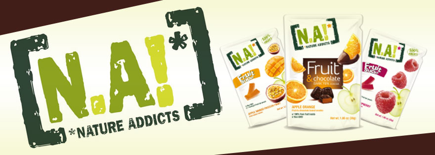 Nature Addicts Fruit Snacks, made from only ingredients provided to us from nature!