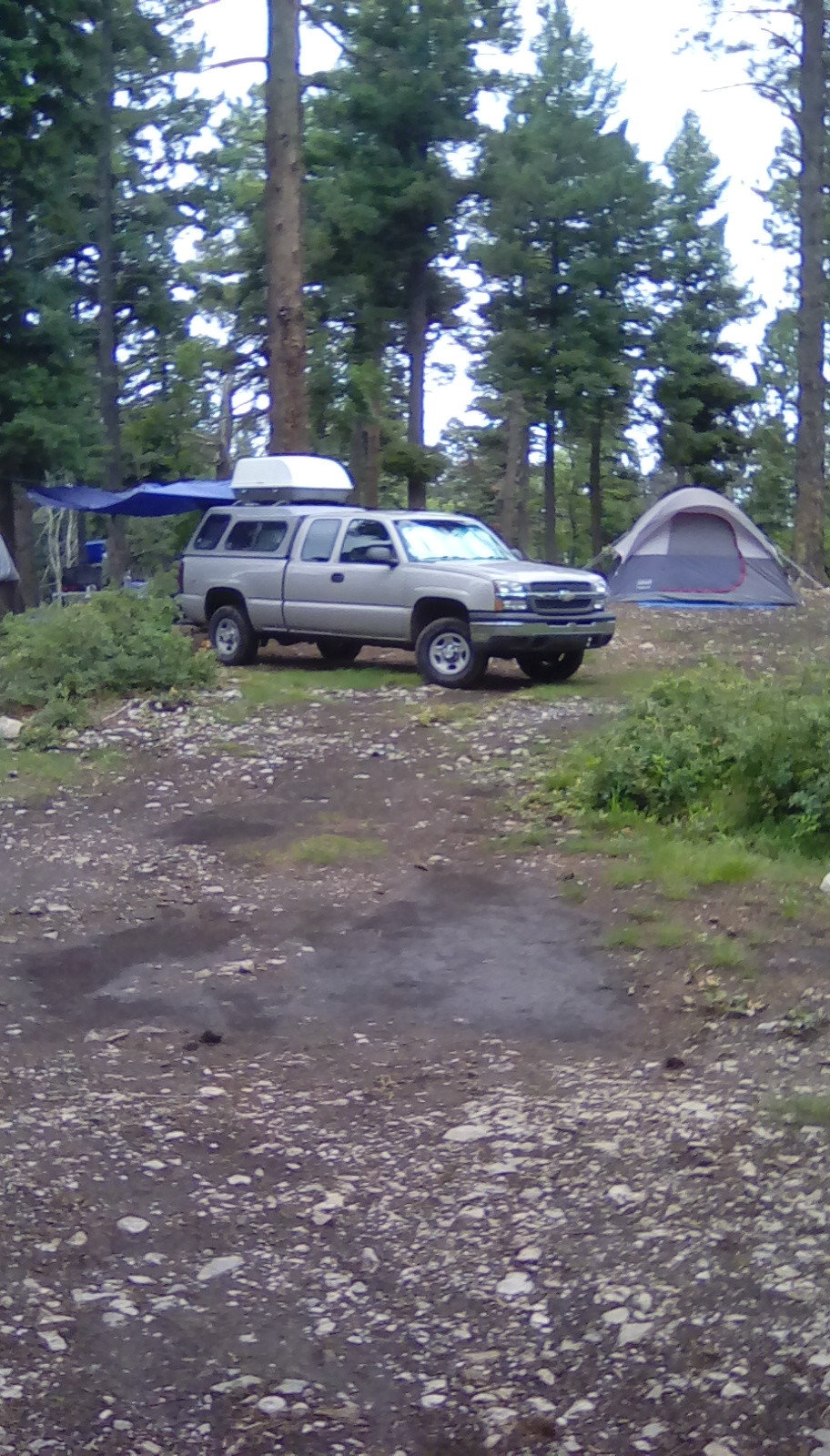 Campsite in the Mountains