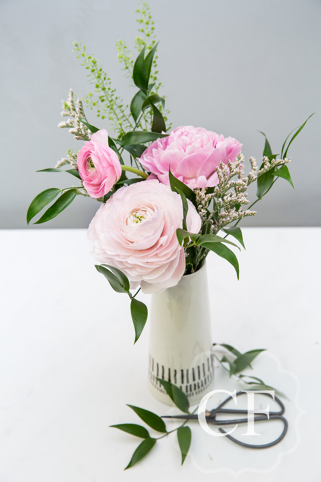 A Simple Bud Vase - A small but sincere gift of thanks