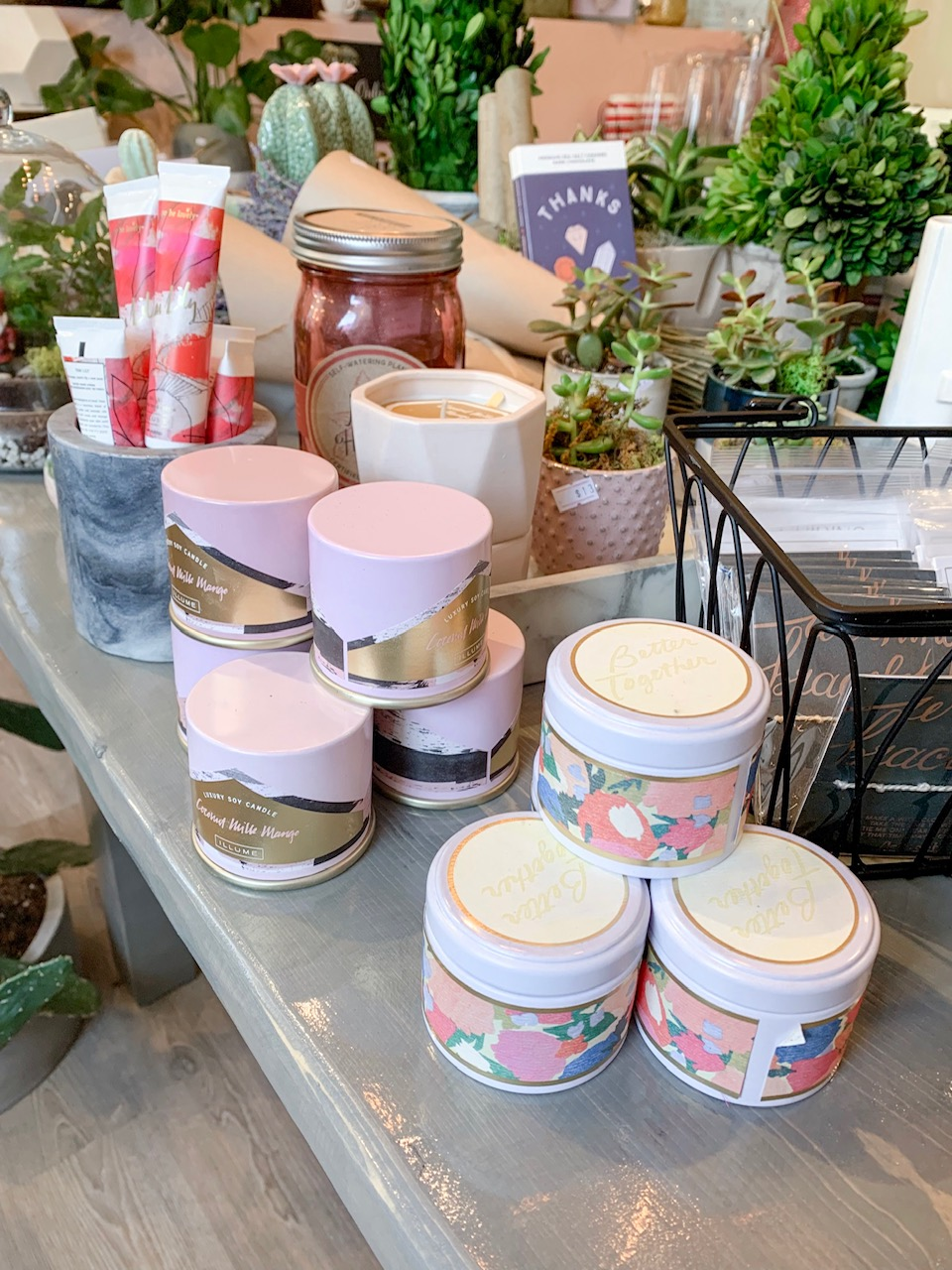 Summer scents - Soy candles and hand creams starting at $13