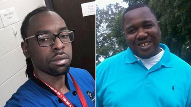 Philando Castile (left) and Alton Sterling