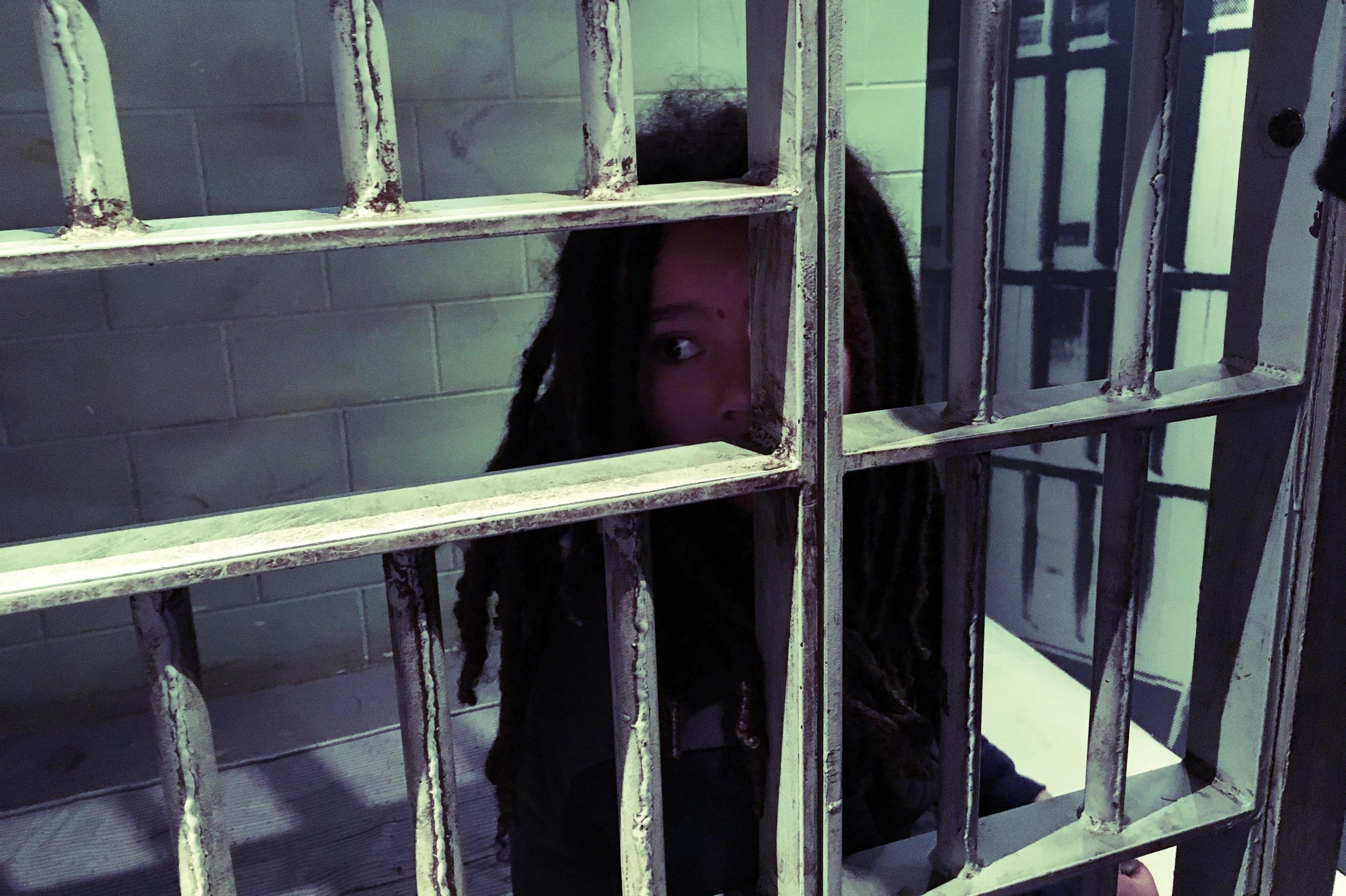Julian in MLK jail cell