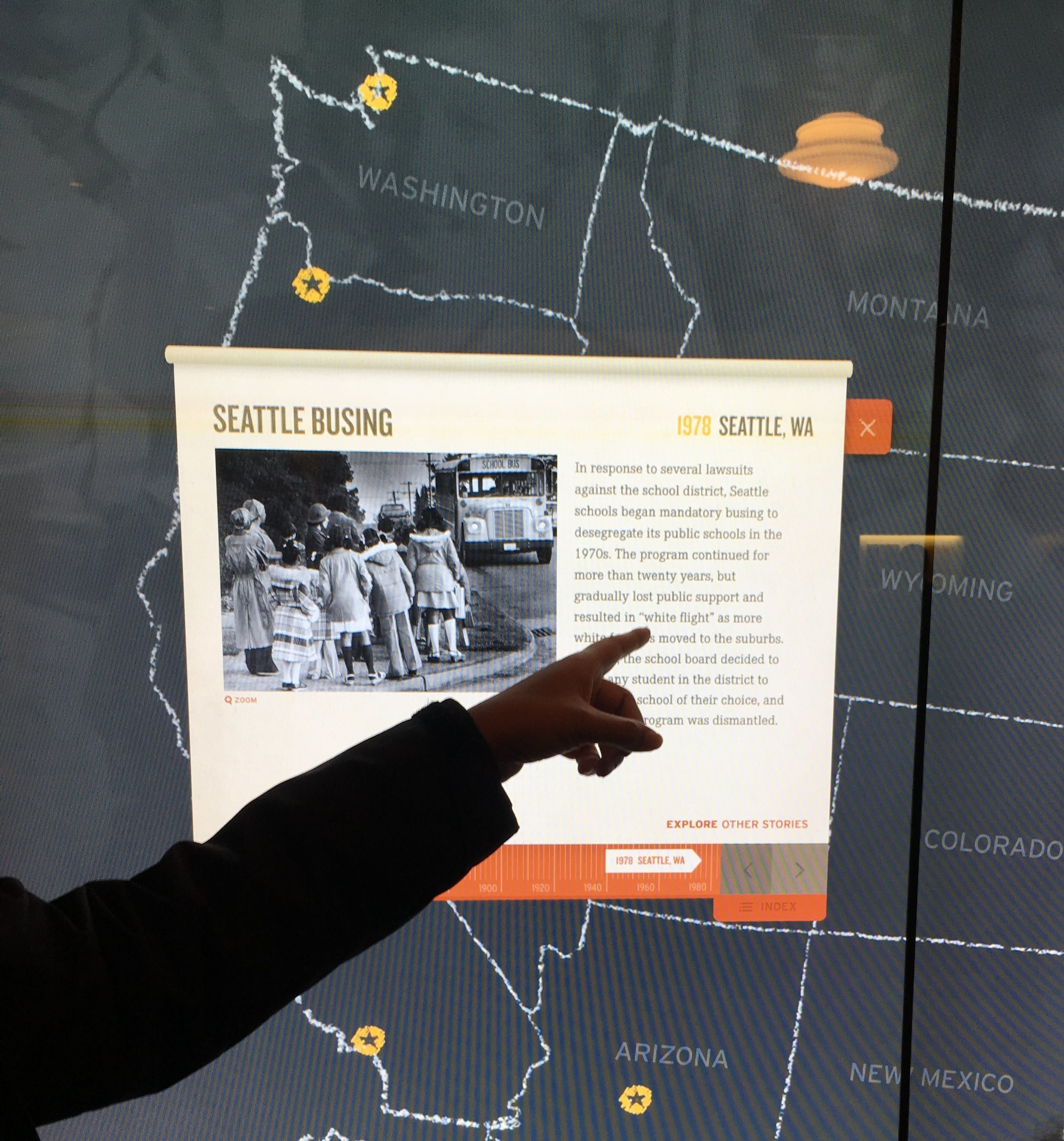 Seattle Busing Civil Rights Museum