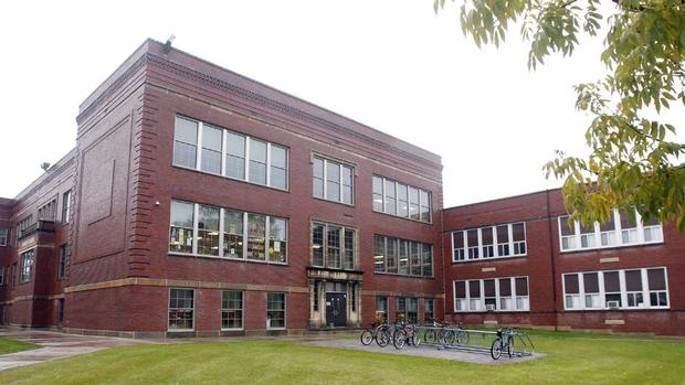 I learned while writing this that Agassiz Middle School closed in 2007.