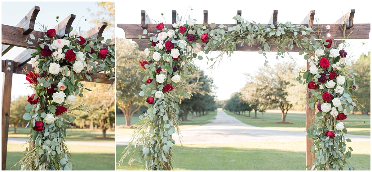 The gorgeous florals by Garden House Floral Studio out of Manning, South Carolina