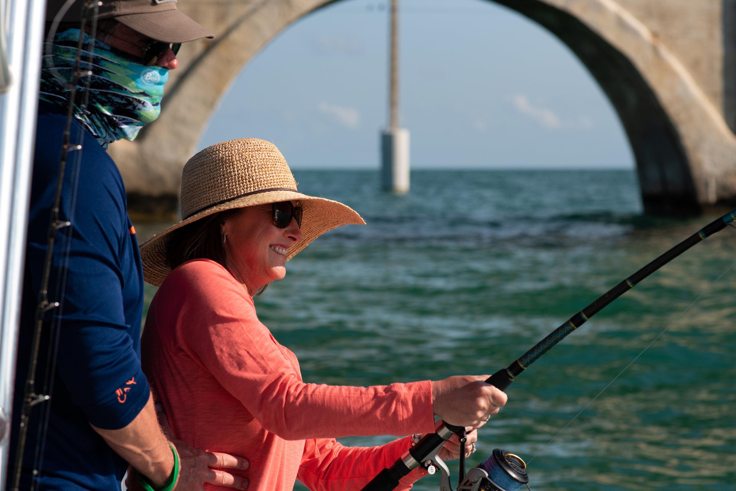 Rick & Steph | Tarpon Time Fishing Charters | Duck Key