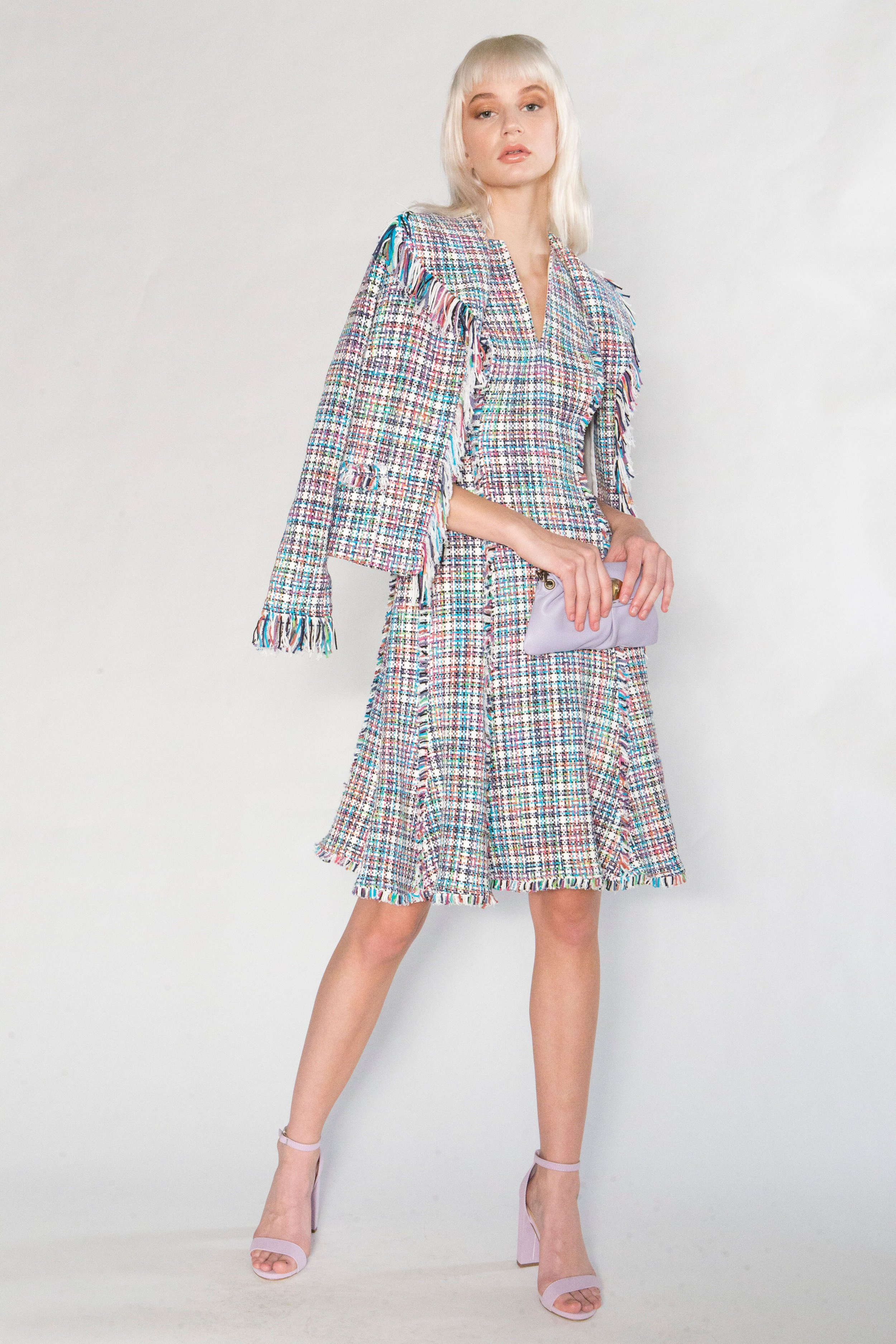 Summer Tweed Fringe Jacket