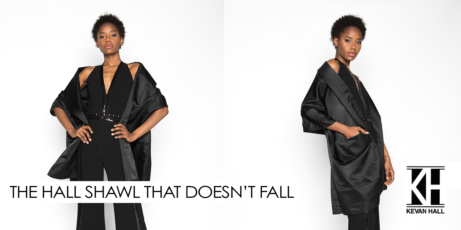 The Hall Shawl That Doesn't Fall