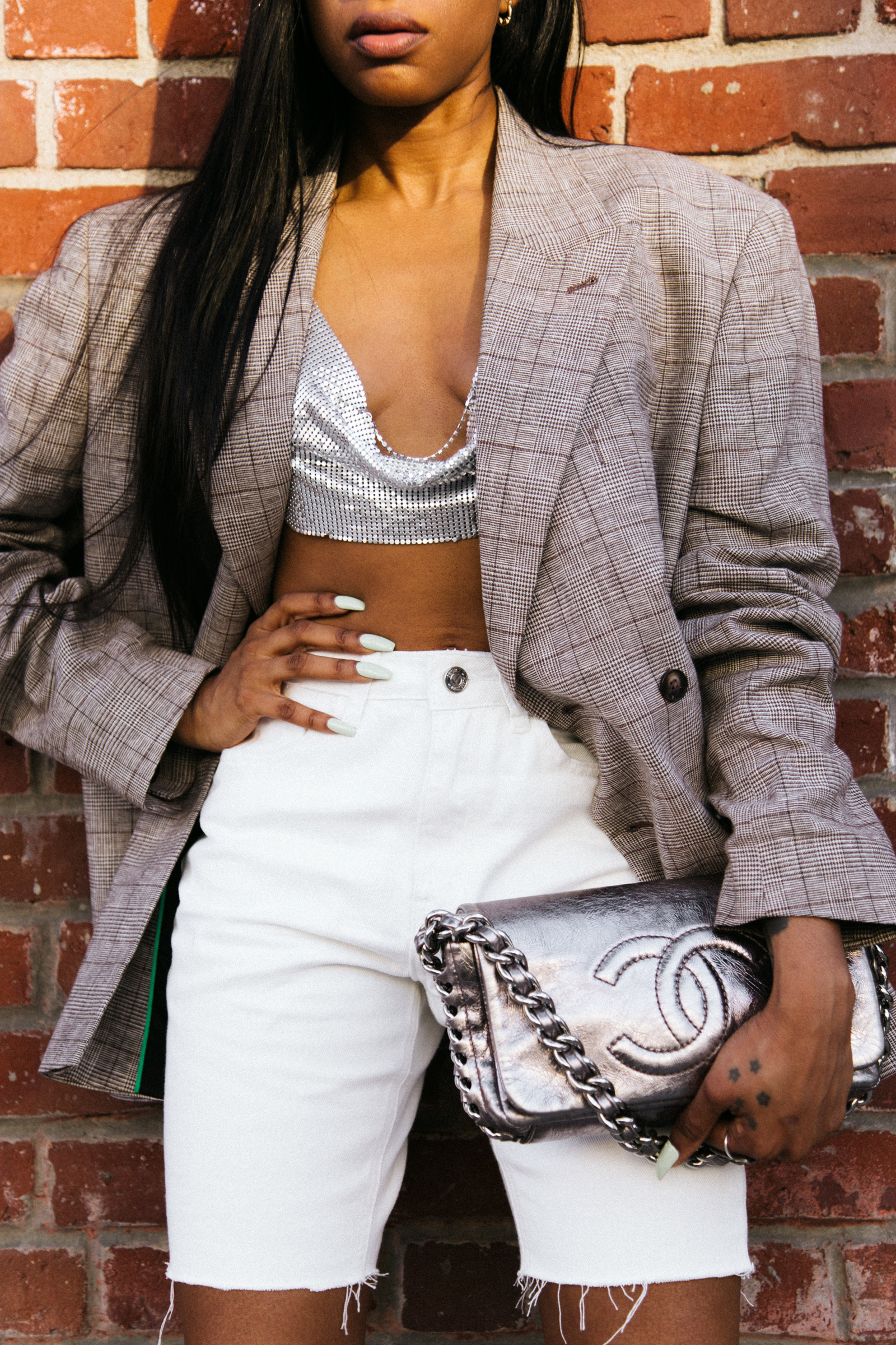 Shop The Look - Chainmail Top: HereBlazer: Here