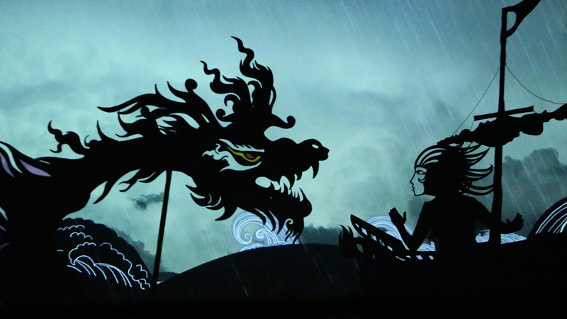 Feathers of Fire - THE MOST ELABORATE SHADOW PLAY EVER PERFORMED.