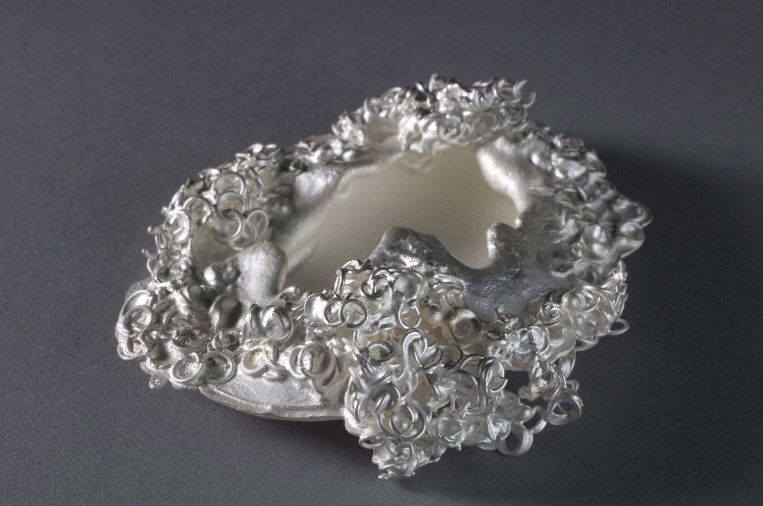 inconsolable  | Opposite Side of Right Object from Detail 10 | Silver | 2009