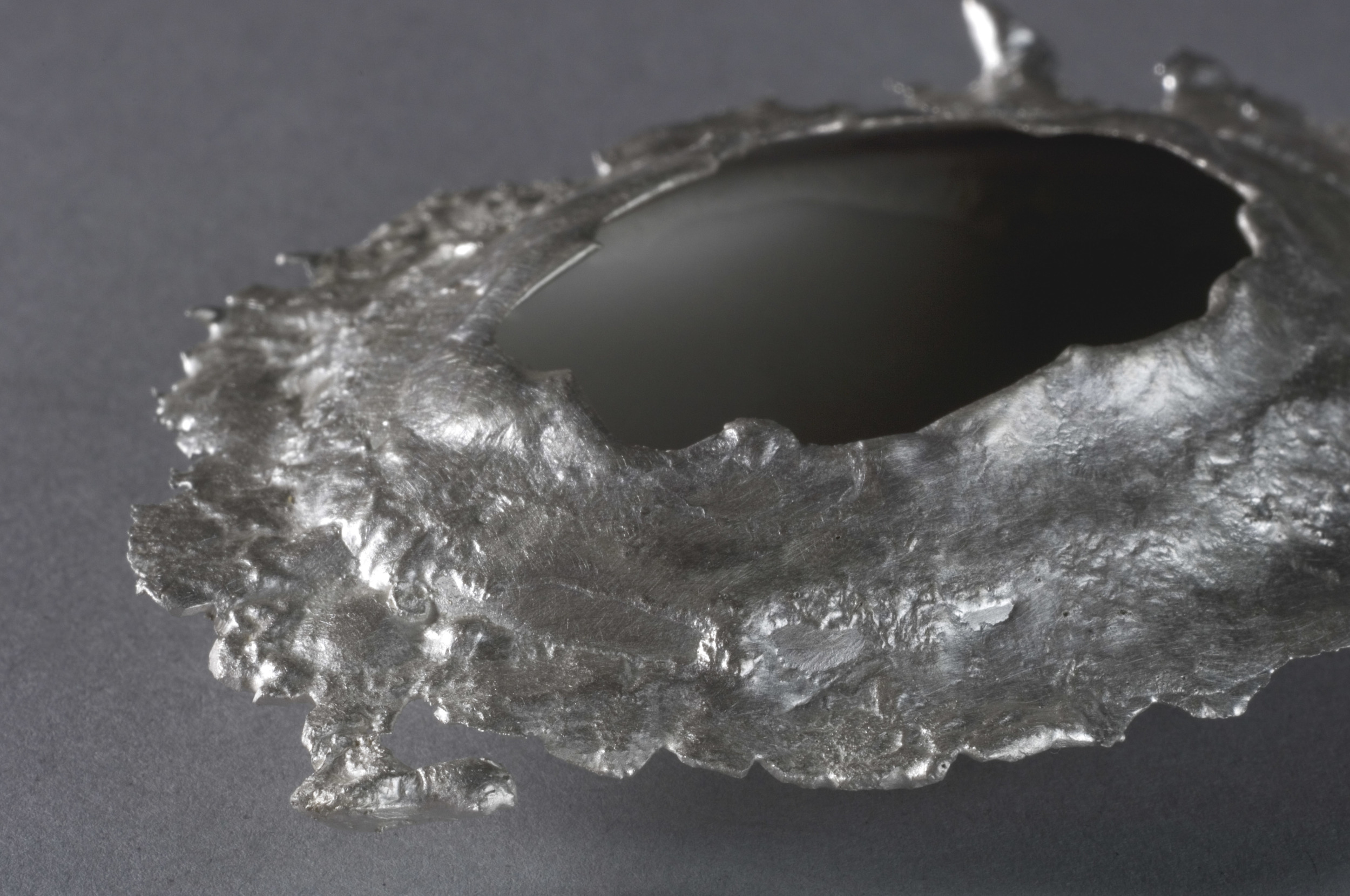 inconsolable  |  Left Object from Detail 10 | Silver | 2009