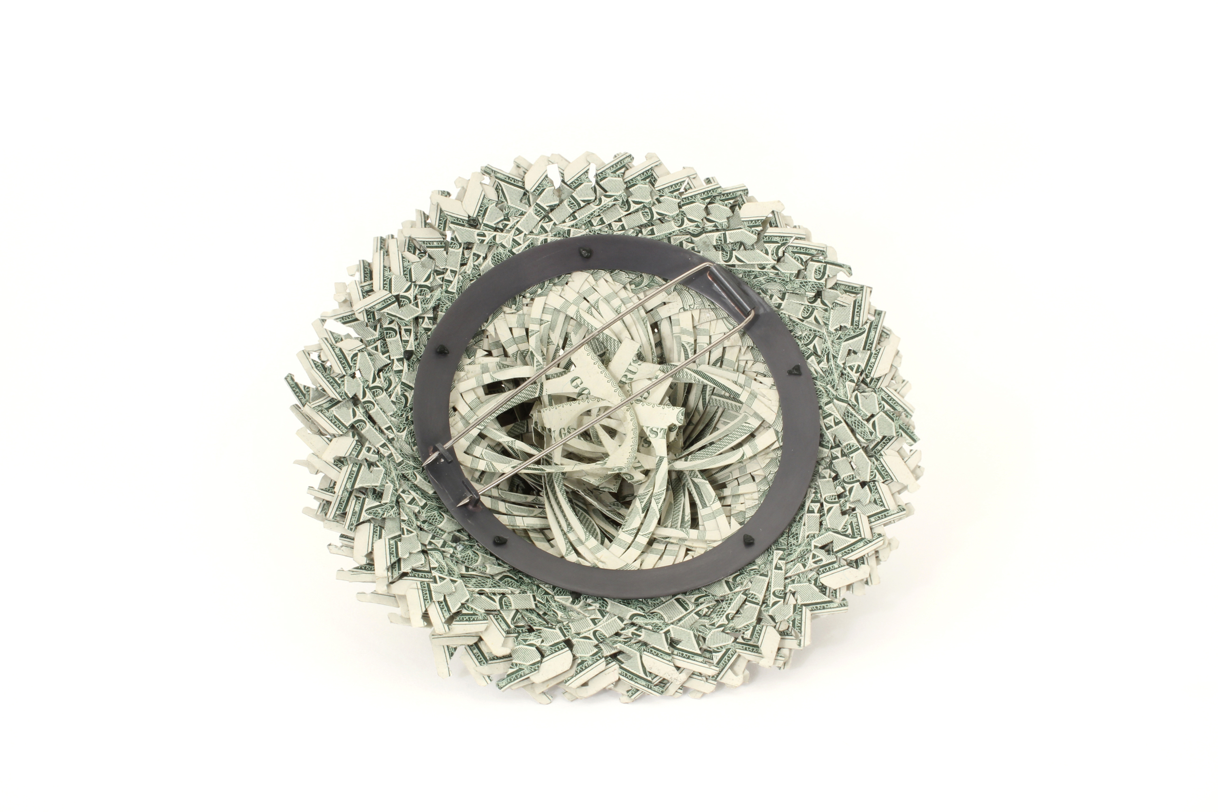$216.00 Currency Converted   |  Brooch  |  US Dollars, Silver, and Surgical Steel  |  2014  |   1/1