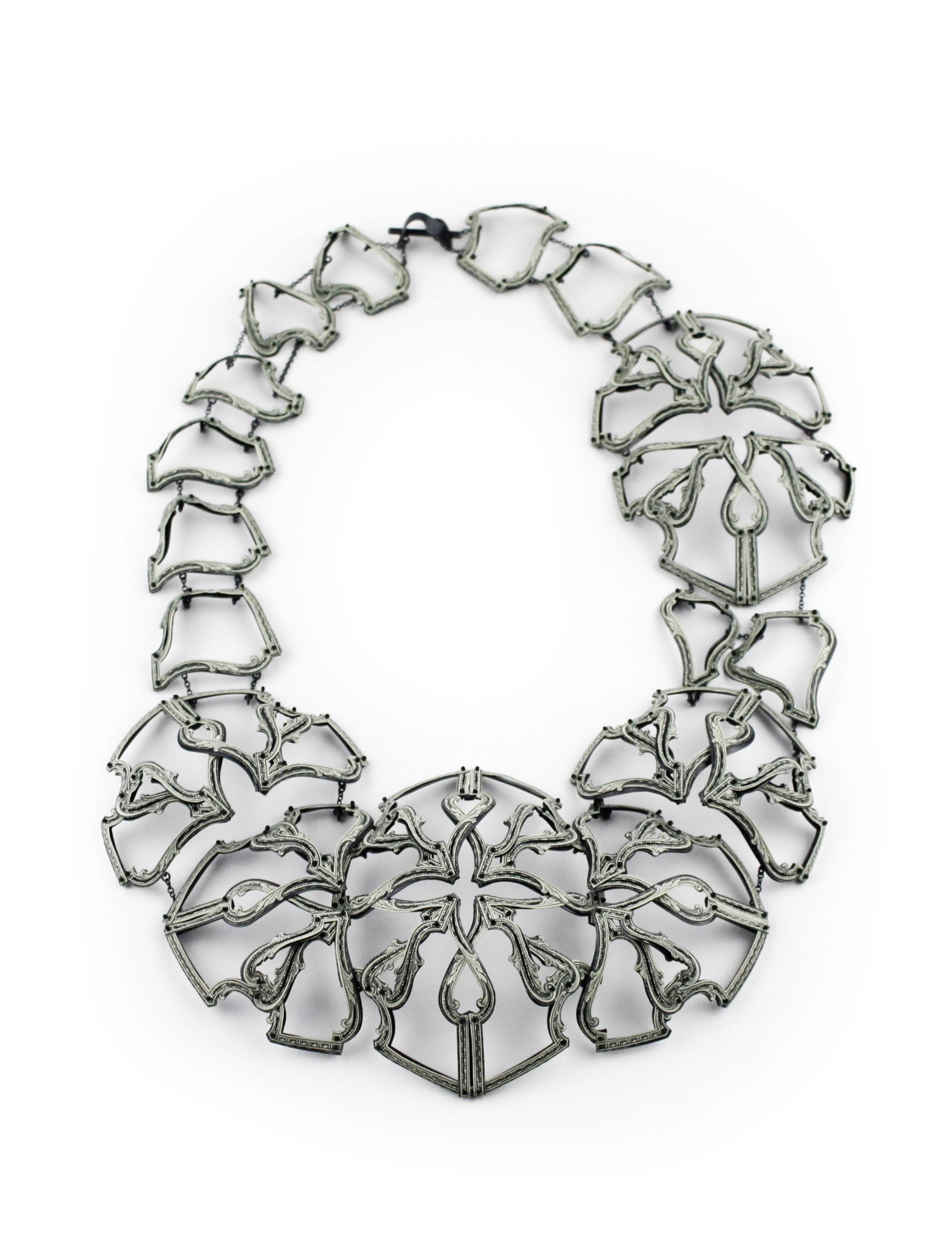 $63.00 Currency Converted | Necklace | US Dollars, Silver, and Monofilament | 2016 | 1/1