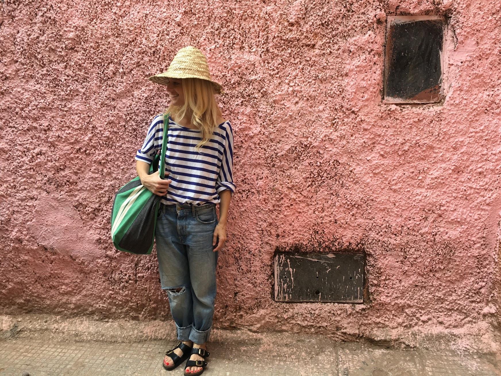 Ph: Me in the Medina, shot by Liz Brown