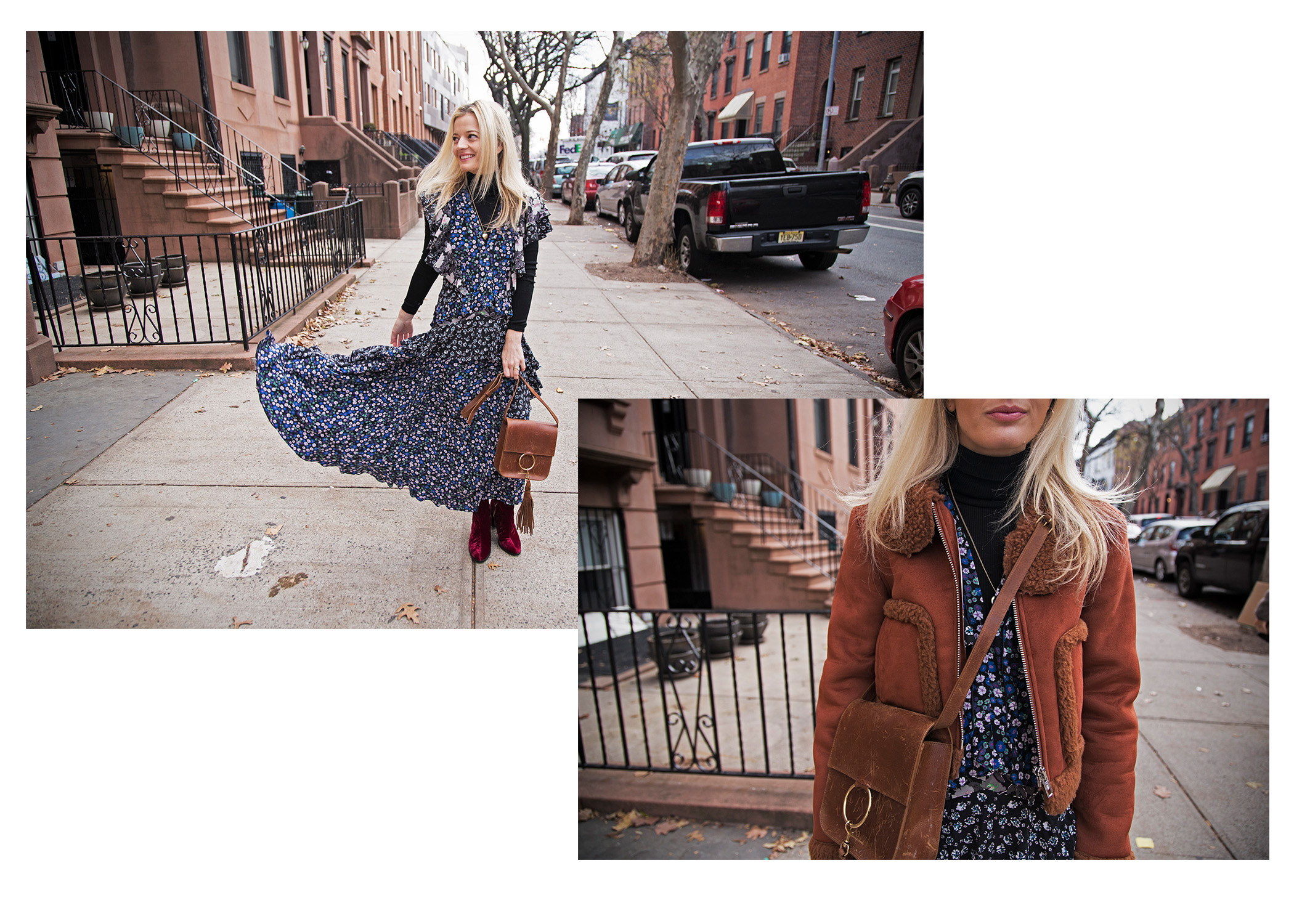 Me on the streets of Carroll Gardens, Brooklyn. Shot by  James Dimmock