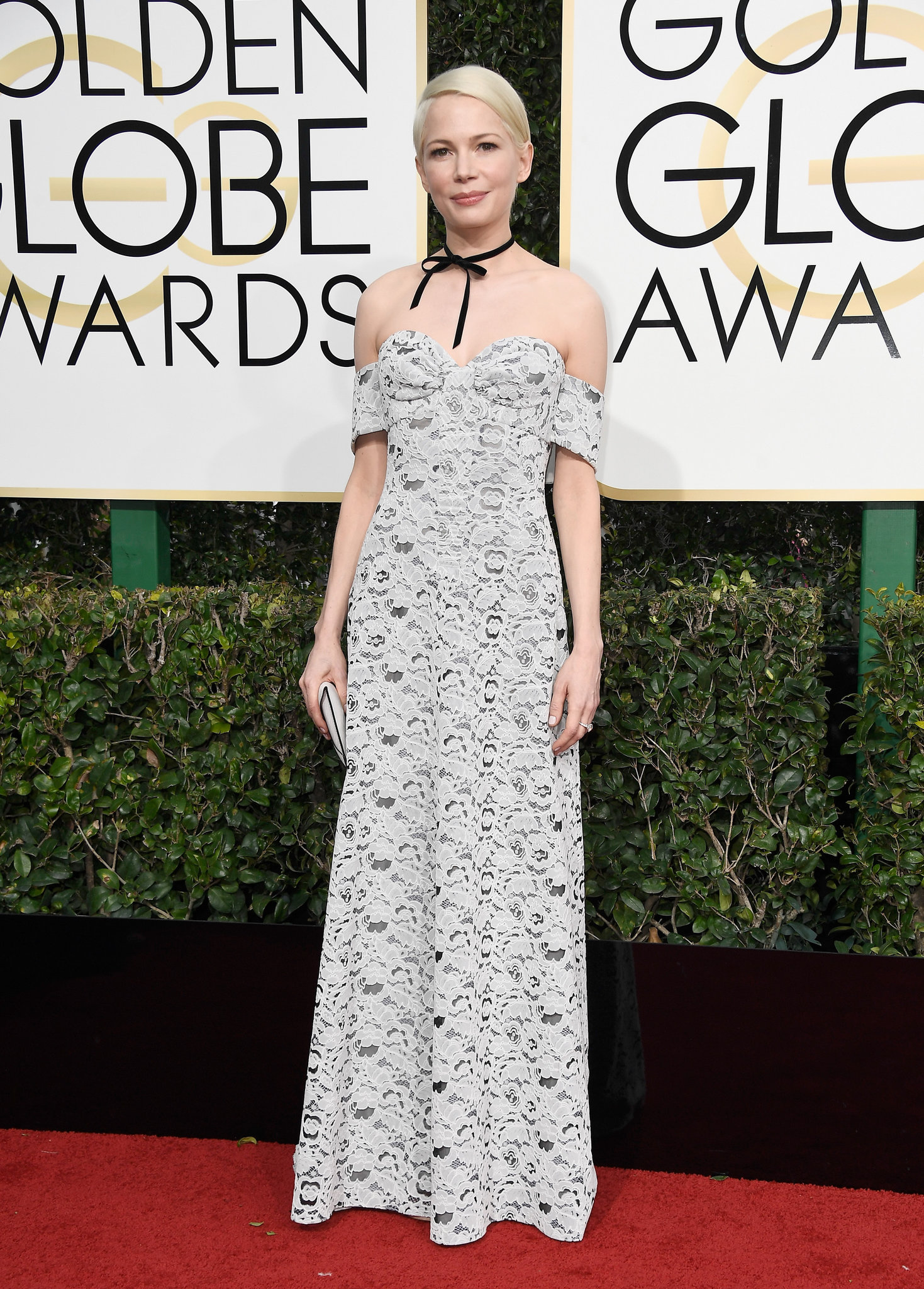 Michelle WIlliams wearing Louis Vuitton