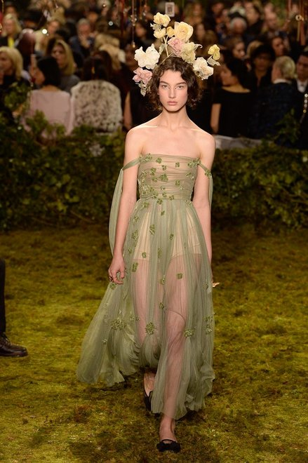 Ph: Christian Dior Haute Couture 2017 / Vogue Runway