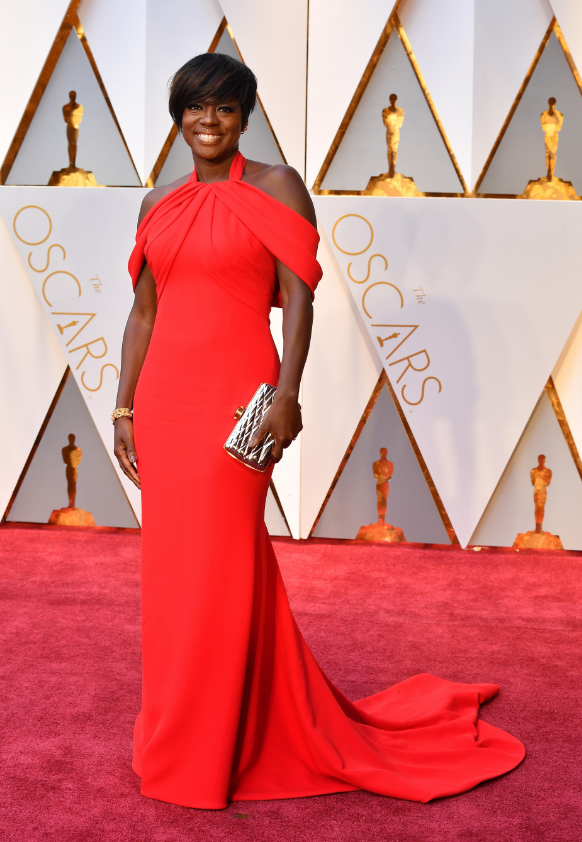 Ph: Viola Davis, Oscar worthy in custom Armani