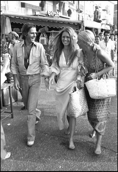 Ph: Brigitte Bardot in St Tropez