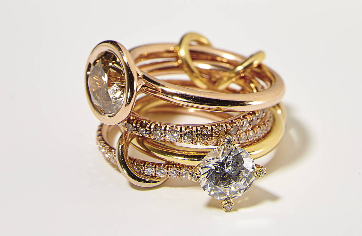 Jewelry line Spinelli Kilcollin launch a wedding collection.