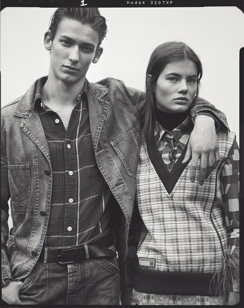 Publication:WSJ. Magazine. Photography by Ben Weller. Styled by: Margherita Moro. Hair: Chi Wong. Makeup:Niamh Quinn. Models:Myrthe Bolt &Kristian Einla.