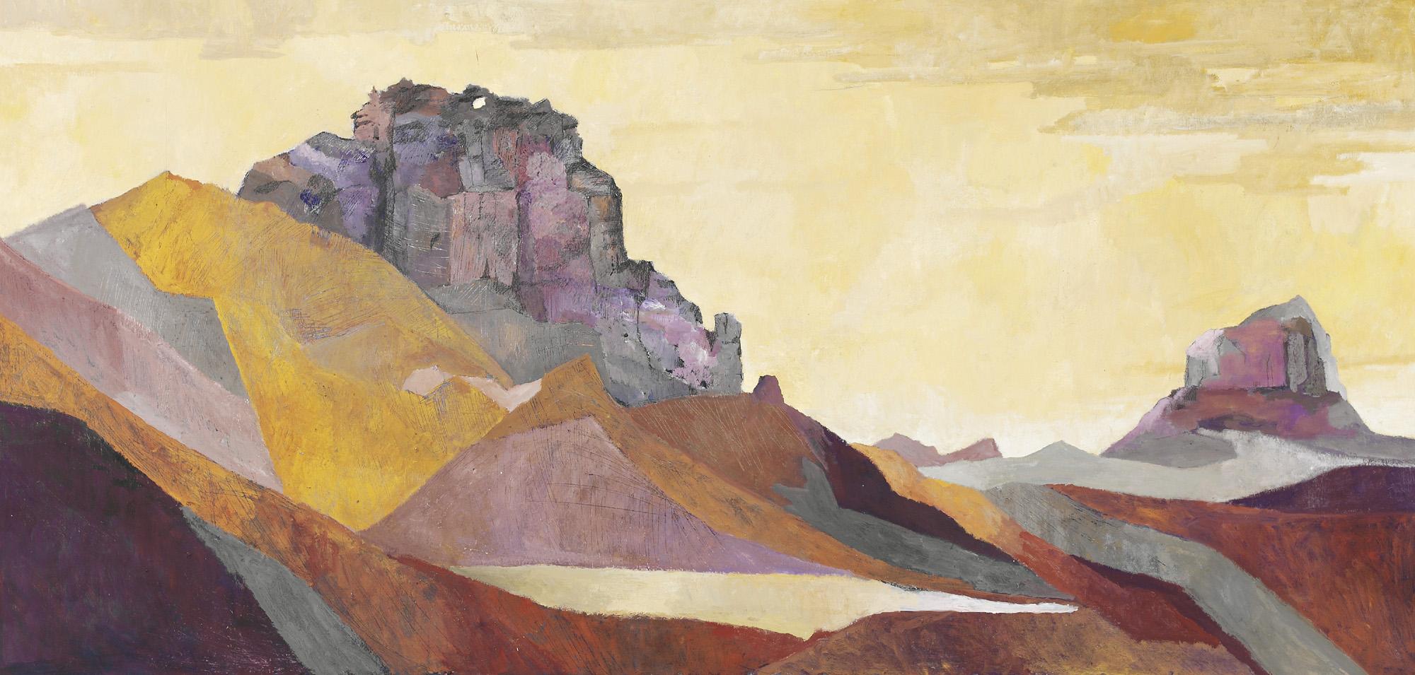 James Shay. Picacho Peak, East Side. 37x57in.jpg