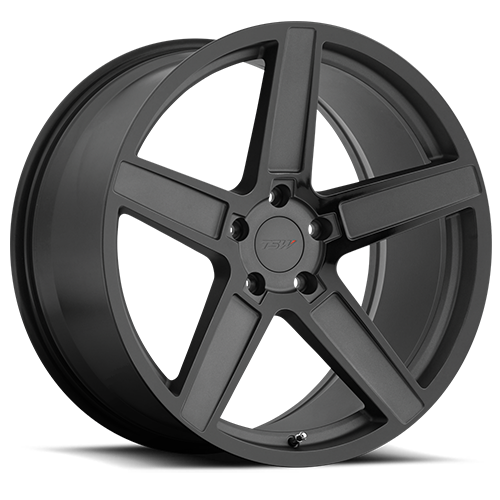 Ascent   Matte Gunmetal with Gloss Black Face