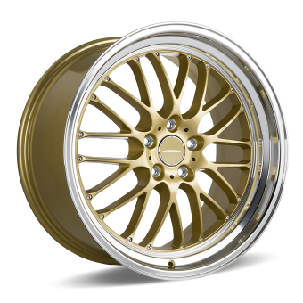 SL-M   D715   |   Gold with Machined Lip