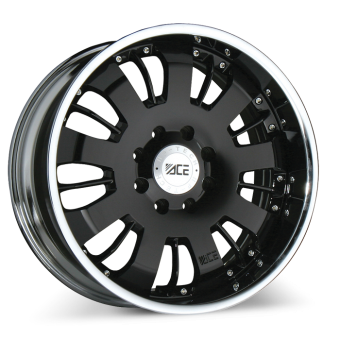 VOLT (2pcs)   C811   |   Black with Chrome  Lip