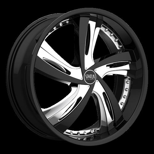 S835 FANTASY  Gloss Black w/ Chrome Inserts
