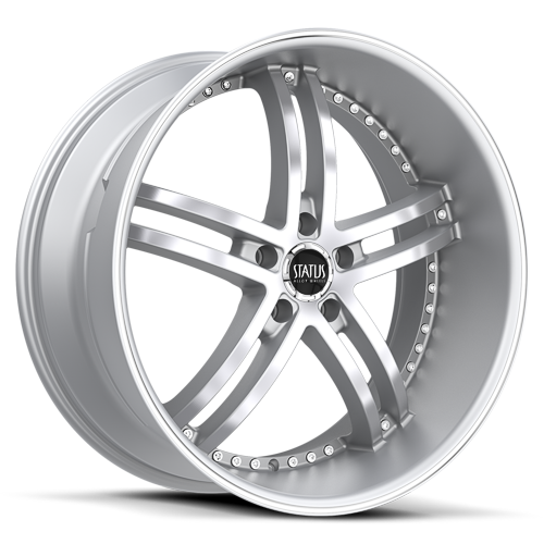 S816 KNIGHT 5  Hyper Silver Machined
