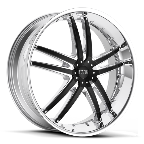 S820 FANG  Chrome with Gloss Black Inserts