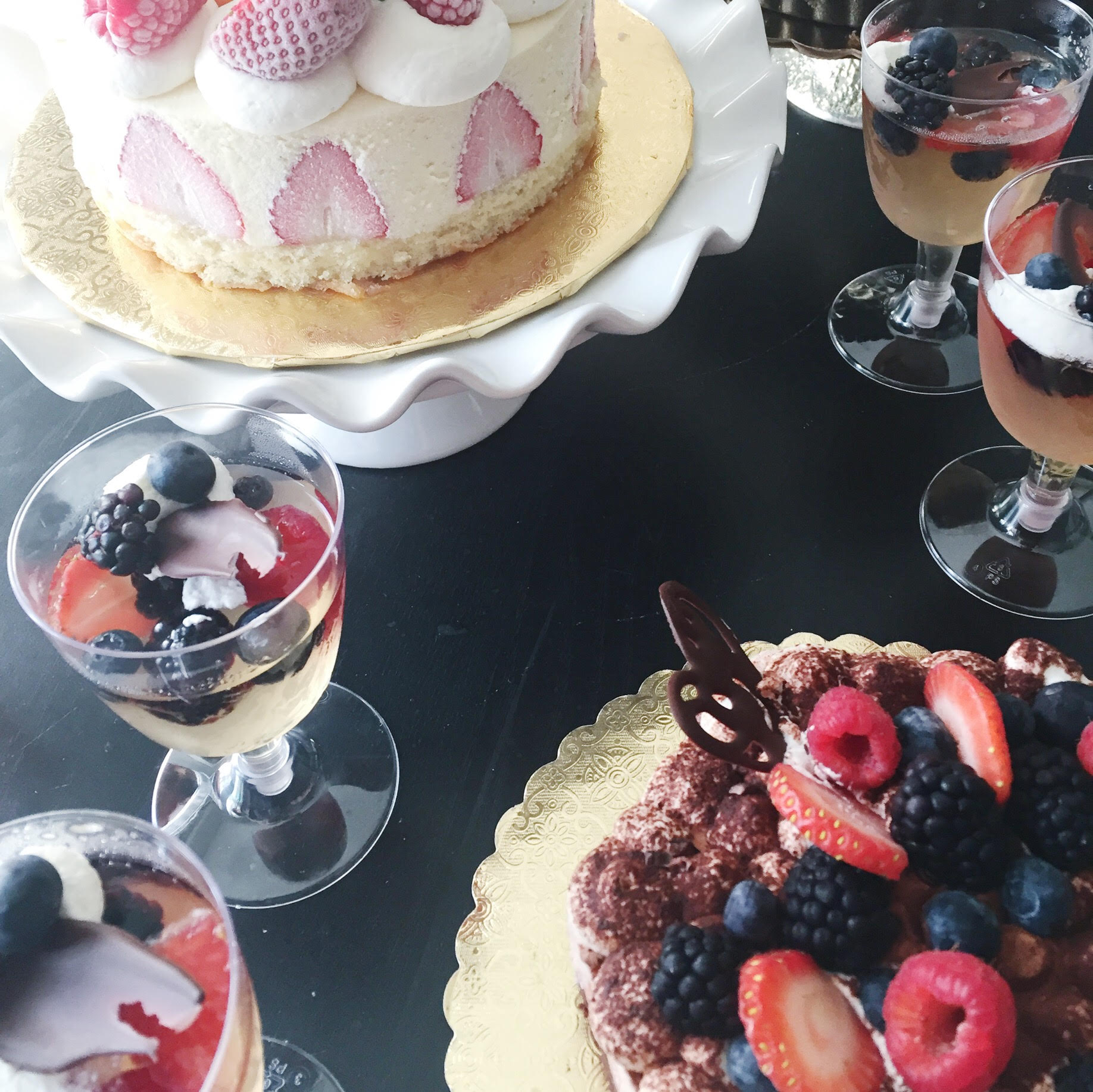 Champagne Jelly, above, is a pretty accompaniment to any dessert table.
