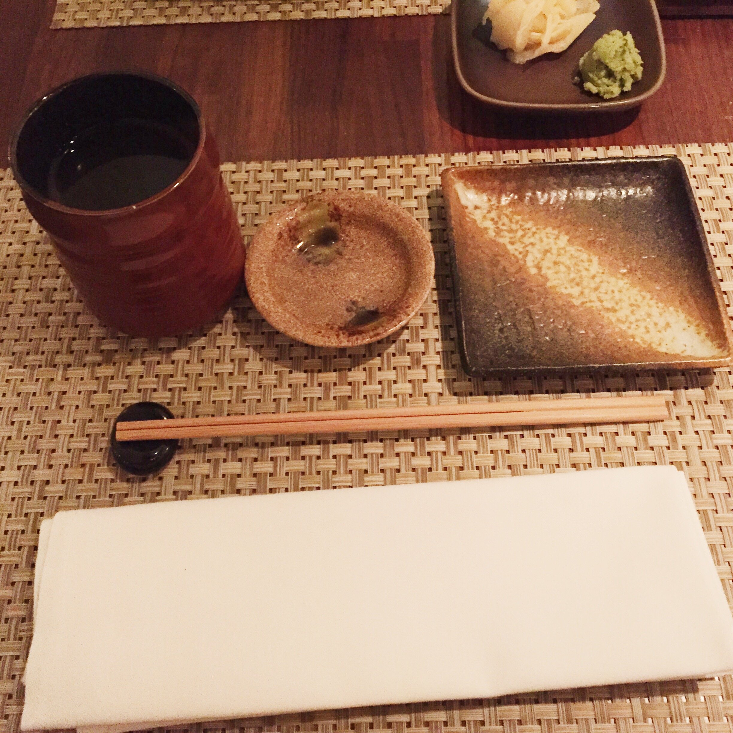 Calming place setting