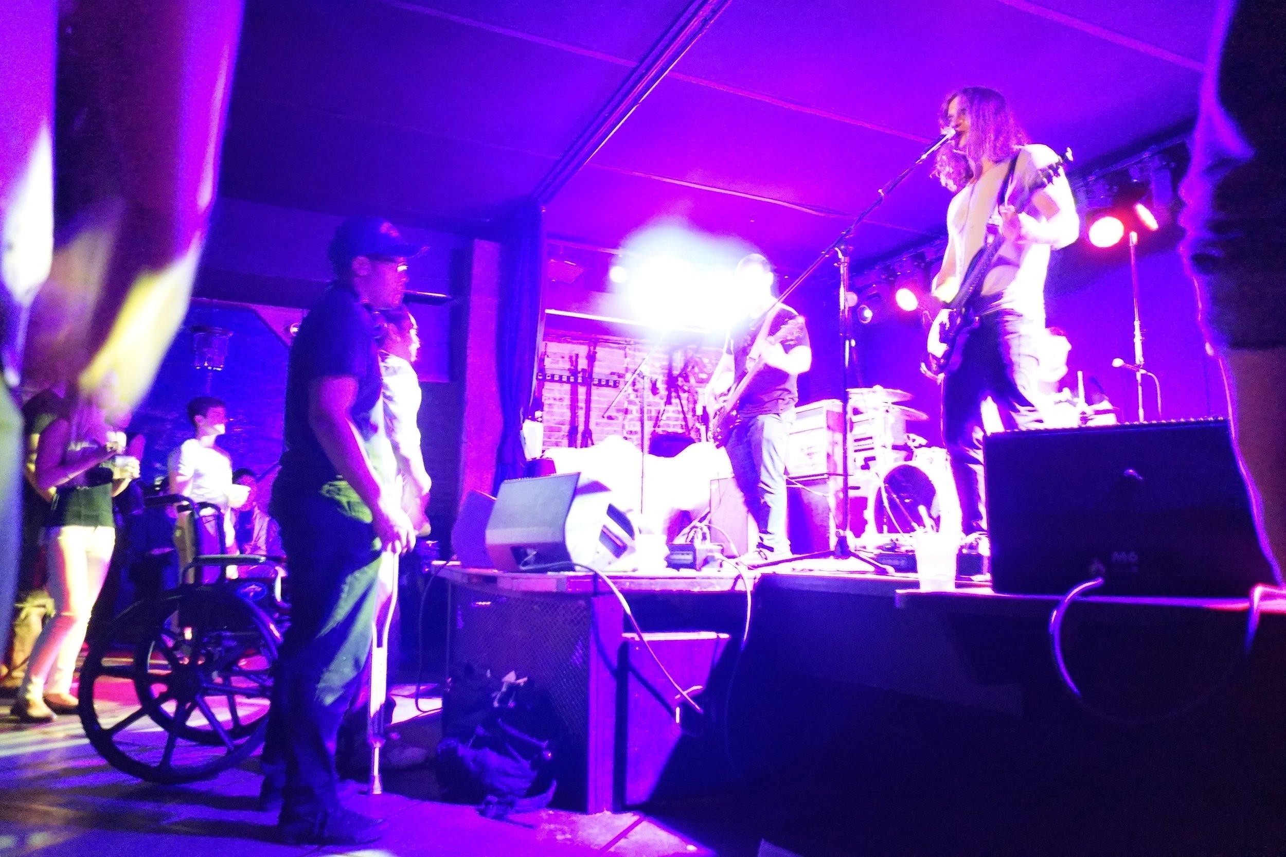 Amazing performance by Newborn at Mercury Lounge