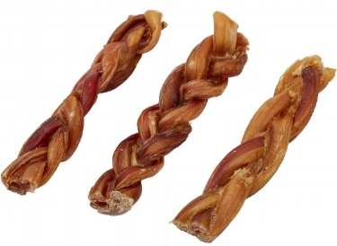 Braided Bully Sticks; available on Chewy.com