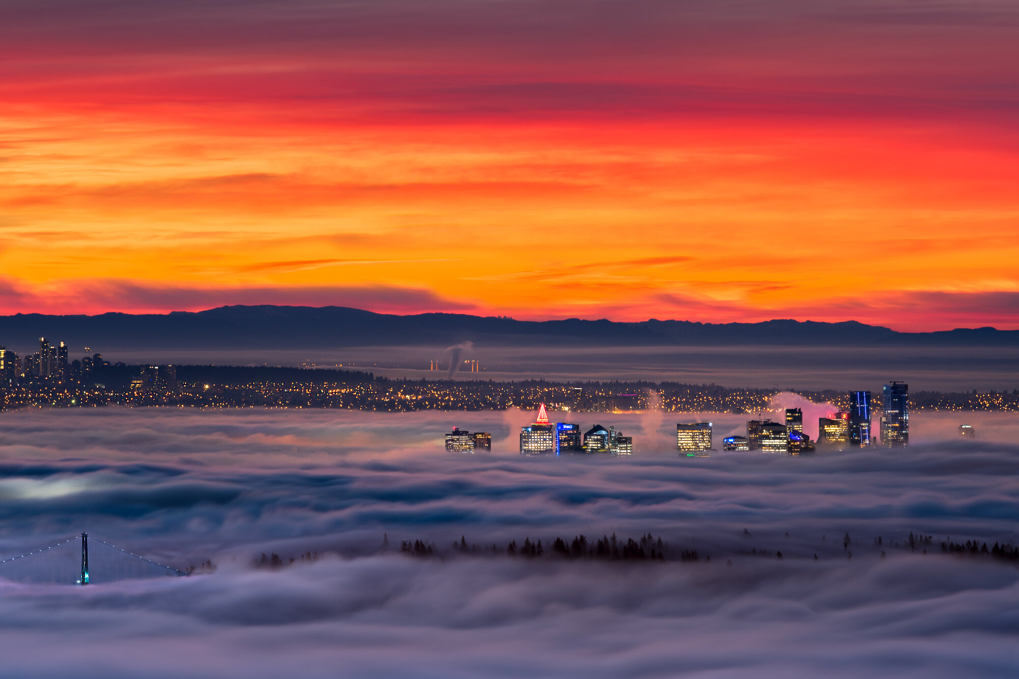 Vancouver Fog Photography: 'Fogcouver'